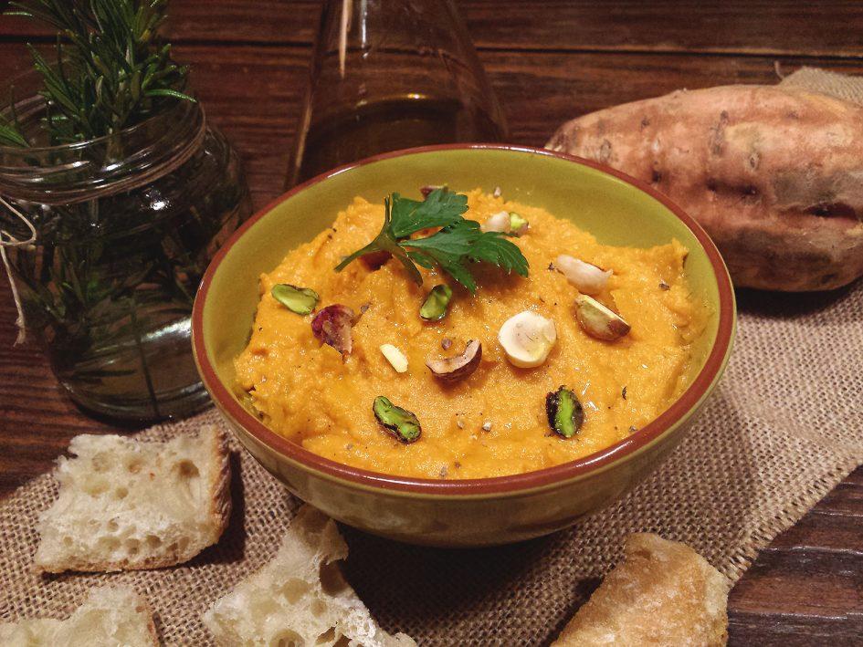 Hummus de moniato