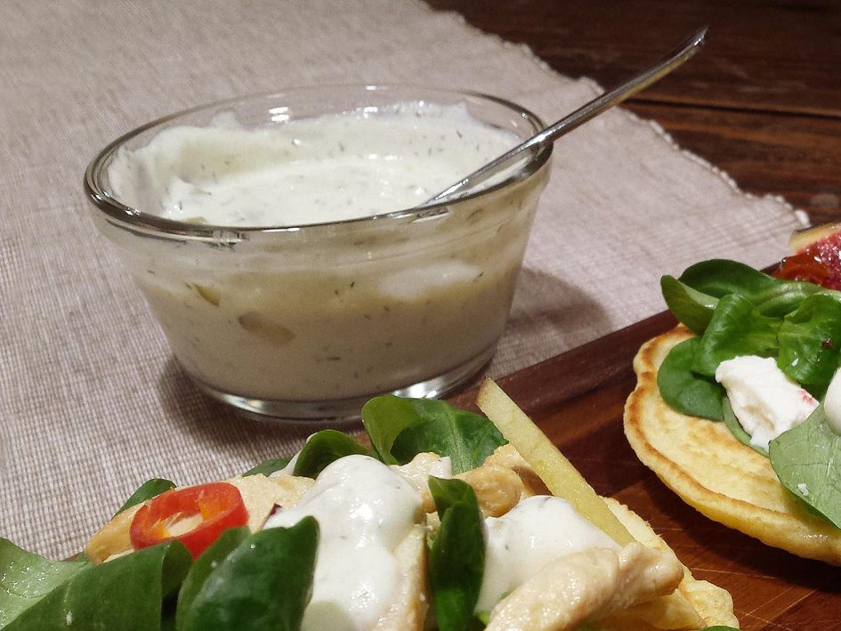 Salsa de iogurt