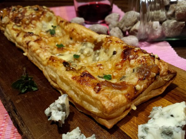 Torta de mermelada de higos y Gorgonzola
