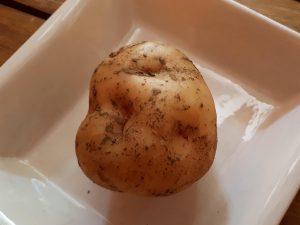 Patates del bufet