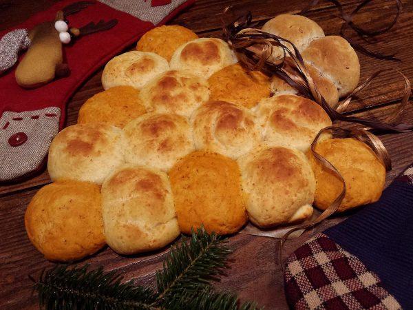 Arbre de pa Nadalenc de 3 sabors