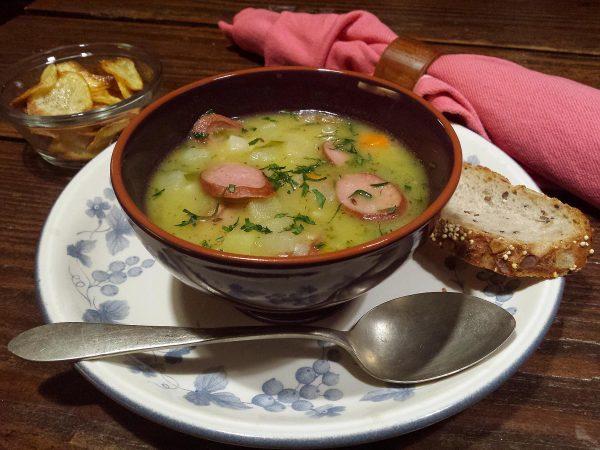 Sopa de patata alemana